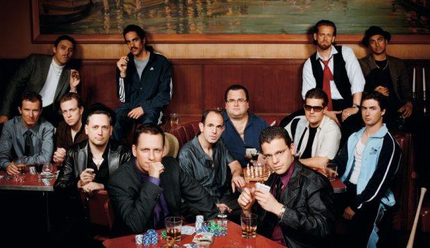 """Grupo """"PayPal Mafia"""" del que Thiel forma parte. (Foto: Revista Fortune)"""