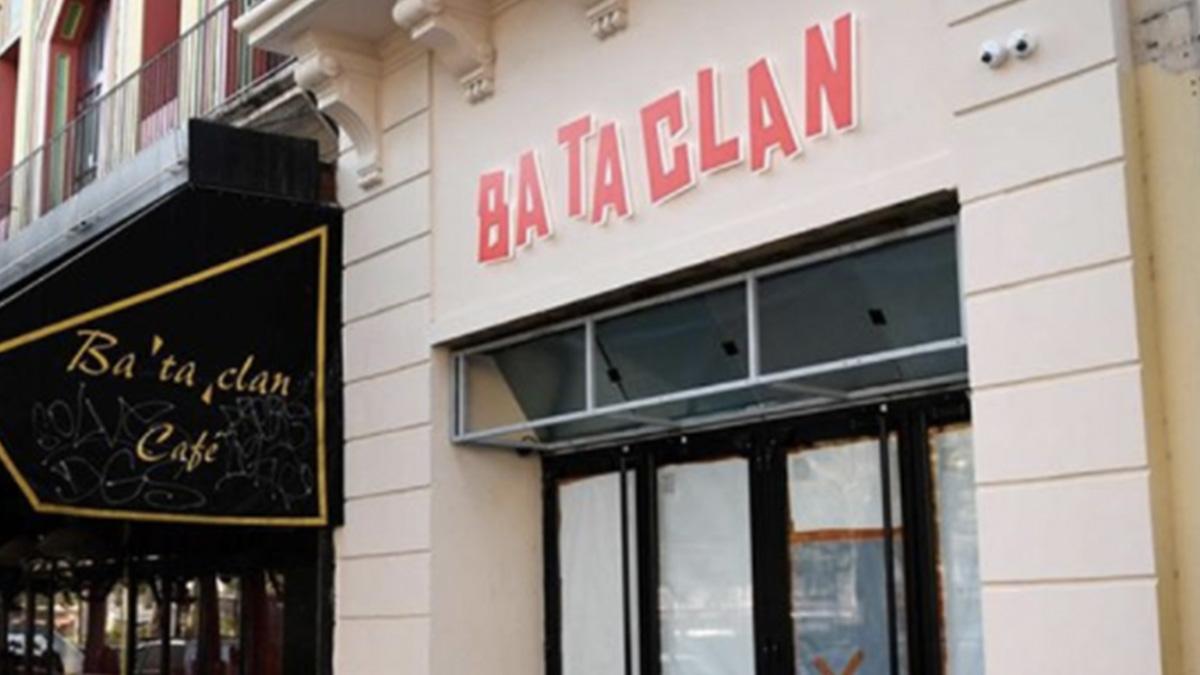 Nueva fachada de la sala Bataclan.