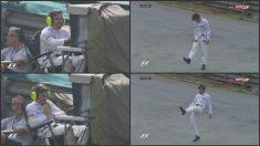 Fernando Alonso durante los entrenamientos libres en Brasil.