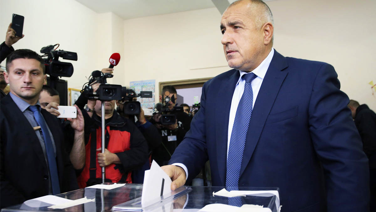 Dimite el primer ministro de Bulgaria Boiko Borisov (Foto: AFP)