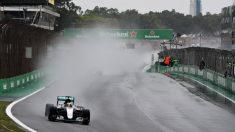 Lewis Hamilton, campeón del GP de Brasil. Alonso, en los puntos (Getty)