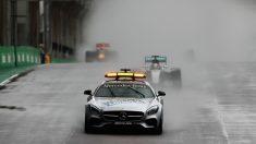 El virtual safety car sustituye al coche tradicional en algunos momentos de la carrera. (Getty)