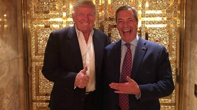 """Rajoy sobre los contactos de Trump con Farage y Le Pen: """"Puede reunirse con quien estime oportuno"""""""