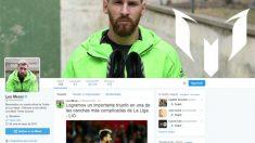 Esta es la cuenta de Messi que Twitter verificó por error.