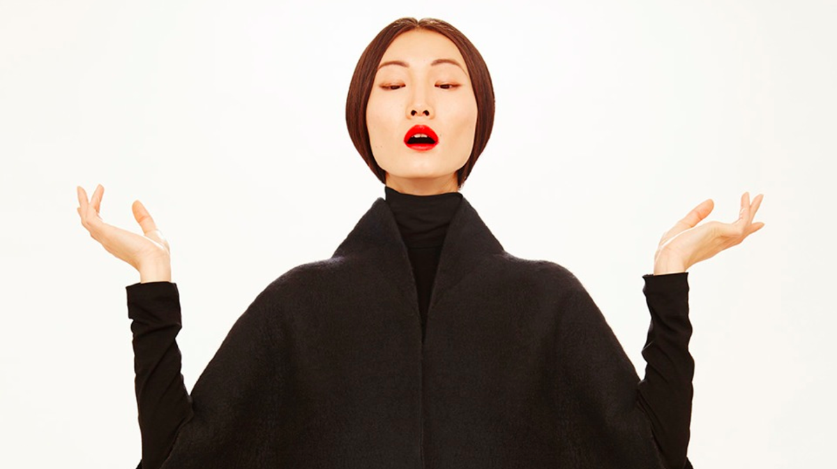 Modelo de la nueva colección de Sybilla (Foto: Sybilla)