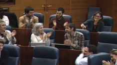 Beatriz Galiana en la toma de posesión a principios de octubre. (Foto: Asamblea)