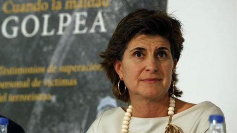 La ex presidenta del PP vasco, María San Gil.