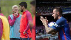 Messi y Suárez creen que el dinero de Alcácer tenía que haber ido destinado a su renovación.
