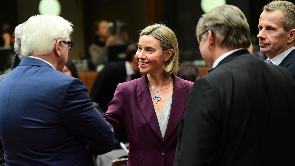 Federica Mogherini, Alta Representante de Política Exterior y de Seguridad Común de la UE. (Foto: AFP)