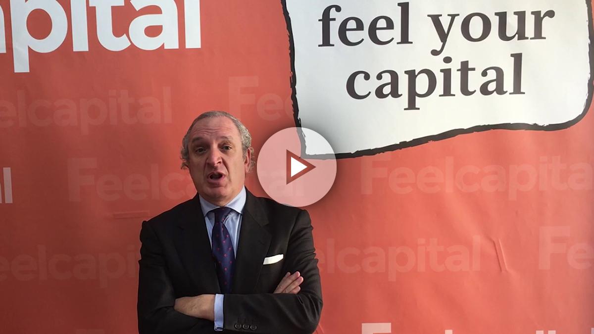 El CEO de Feel Capital, Antonio Banda.