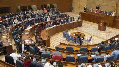 La Asamblea de Madrid, en sesión plenaria.