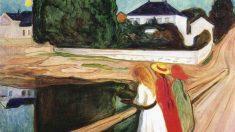 'Muchachas en el puente' (Edvard Munch, 1902).