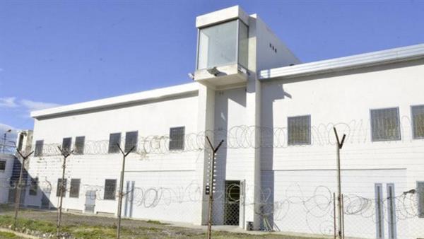 Imagen del exterior de la unidad penitenciaria de Comodoro Rivadavia
