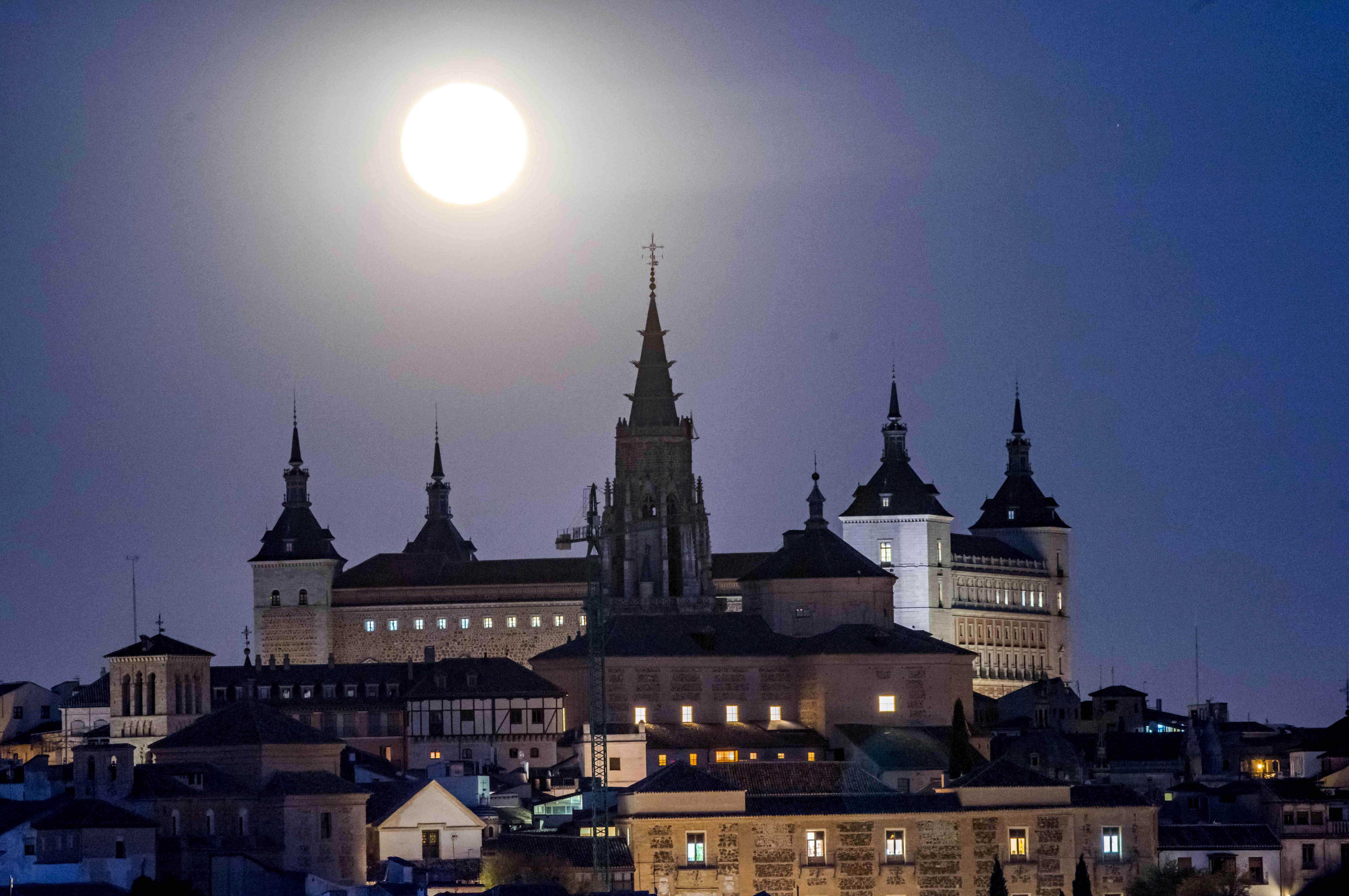 San Valentín: Superluna Toledo