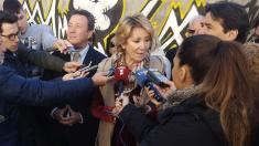 La líder de la oposición en el Ayuntamiento, Esperanza Aguirre. (Foto: TW)