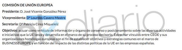 Documento oficial de la CEOE.