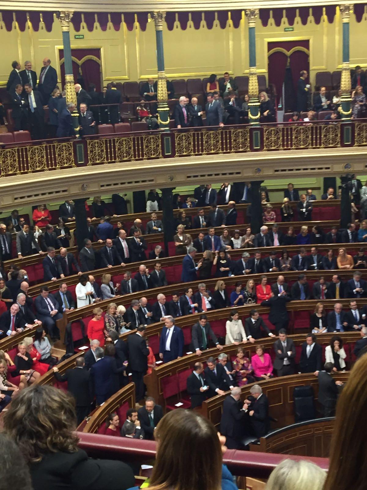 Congreso de los Diputados. (Foto: EFE)