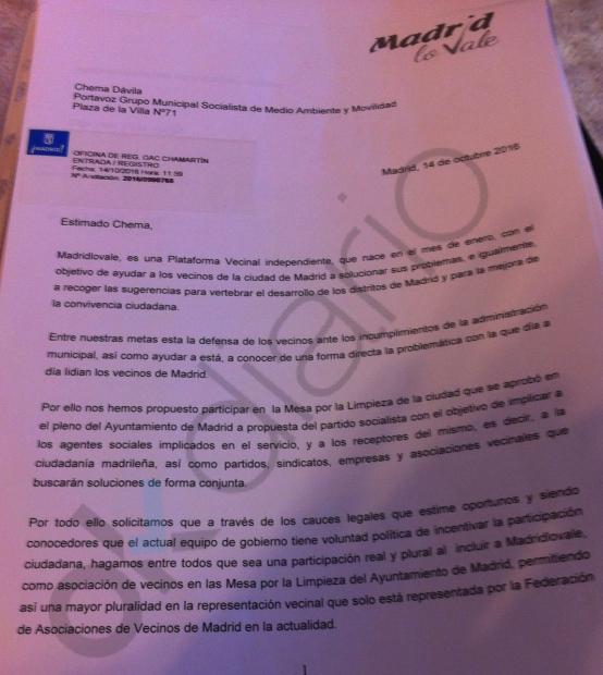 Carta al representante del PSOE. (Clic para ampliar)