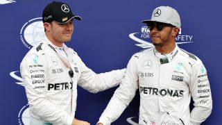 Lewis Hamilton espera que en Abu Dhabi su compañero Nico Rosberg deje de tener la suerte de su lado. (Getty)