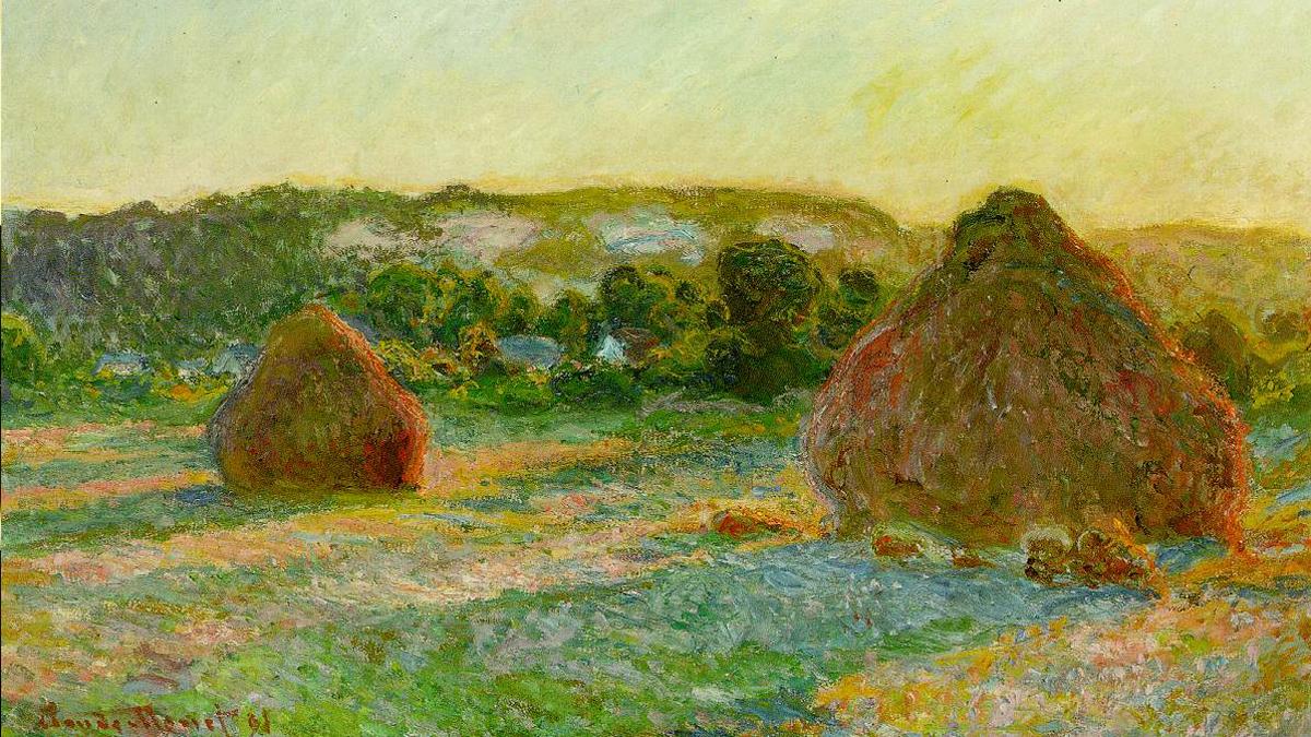 'Meule', de Claude Monet.