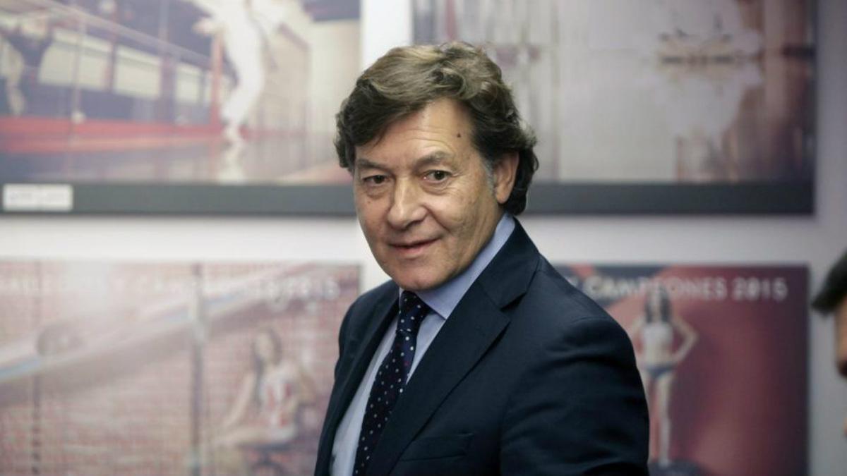 José Ramón Lete fue jugador del baloncesto profesional en los 80.