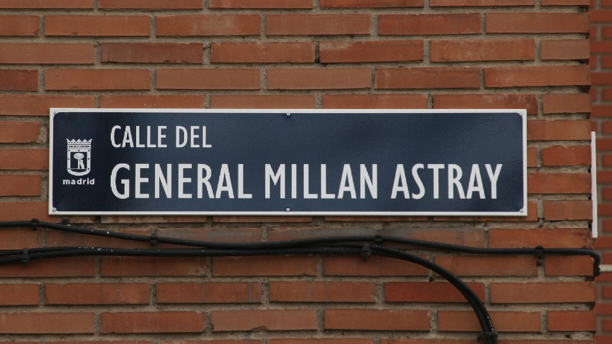 Calle del fundador de la Legión en el distrito de Latina. (Foto: WP)