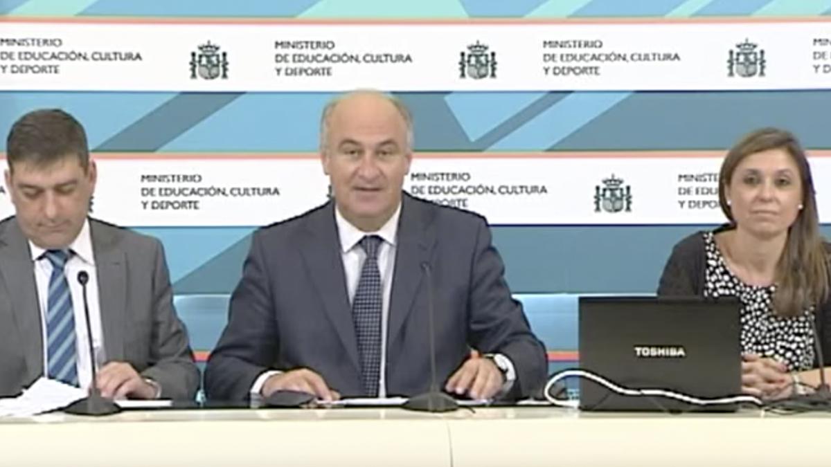 El secretario de Estado de Cultura, Fernando Benzo Sáinz.