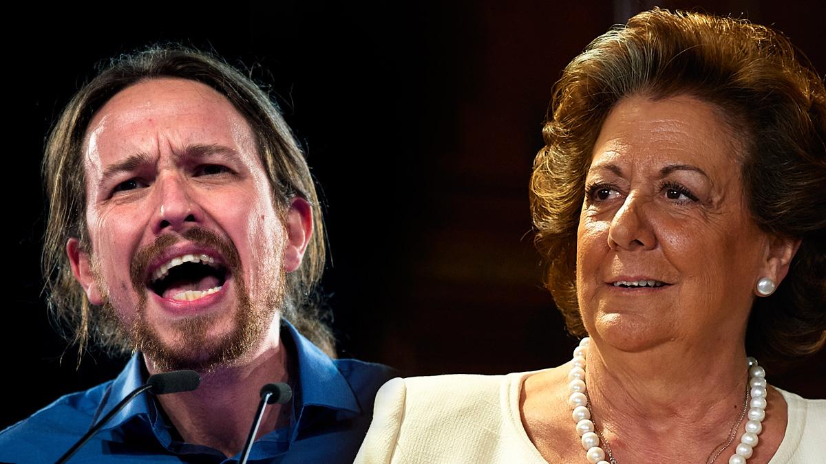 Pablo Iglesias y Rita Barberá