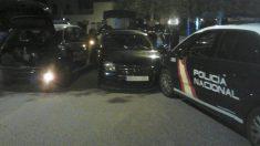 Imagen distribuida por la Policía tras la persecución en Valencia.