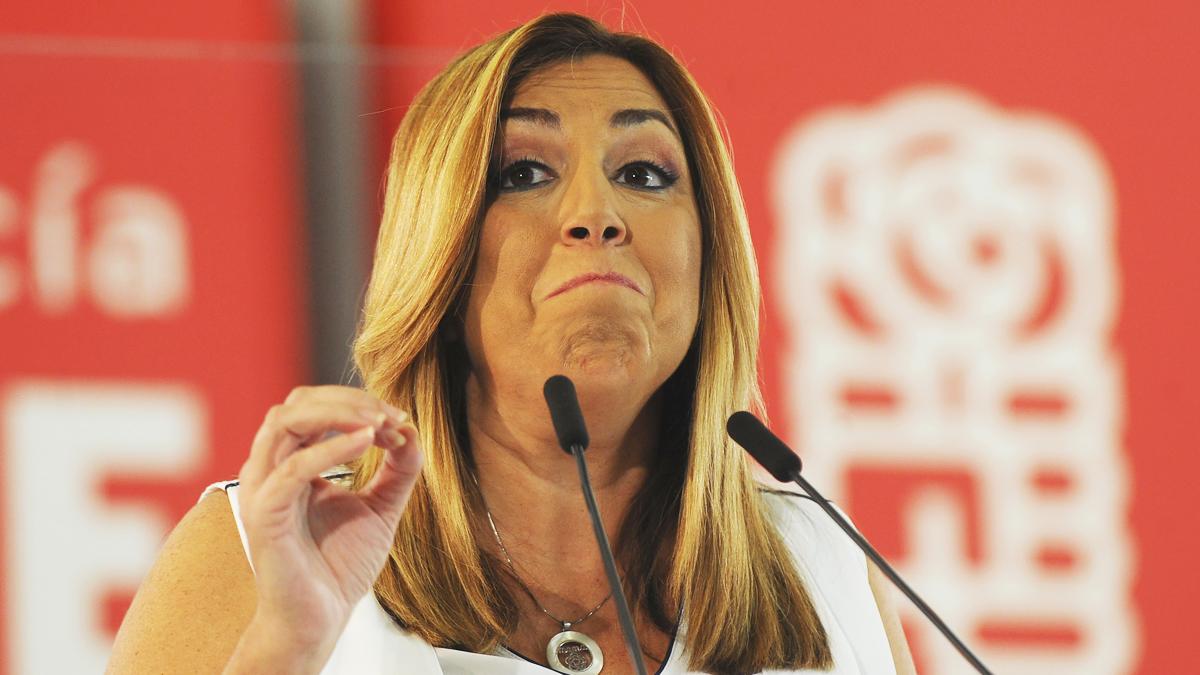 Susana Díaz. (Foto: AFP)