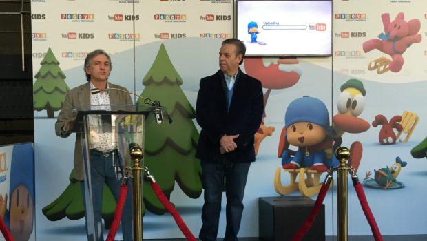 Alberto Delgado, consejero delegado y Miguel Valladares, presidente de Zinkia. (Foto: OKDIARIO)