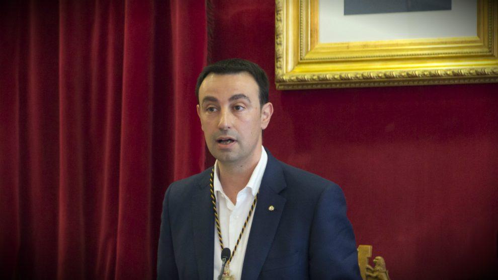 Mikel Torres, alcalde de Portugalete y secretario general del PSE en Vizcaya.