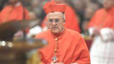 El nuevo cardenal Carlos Osoro este sábado en Roma (Foto: AFP).