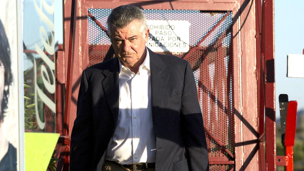 Juan Antonio Roca, saliendo de la cárcel de Alhaurín de la Torre por primera vez. (EFE)