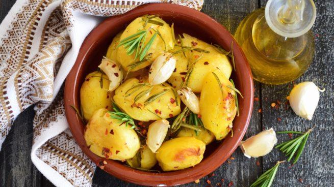 Receta de patatas griegas
