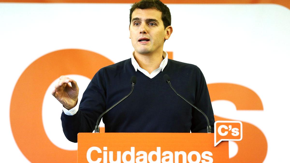 Albert Rivera. (Foto: EFE)