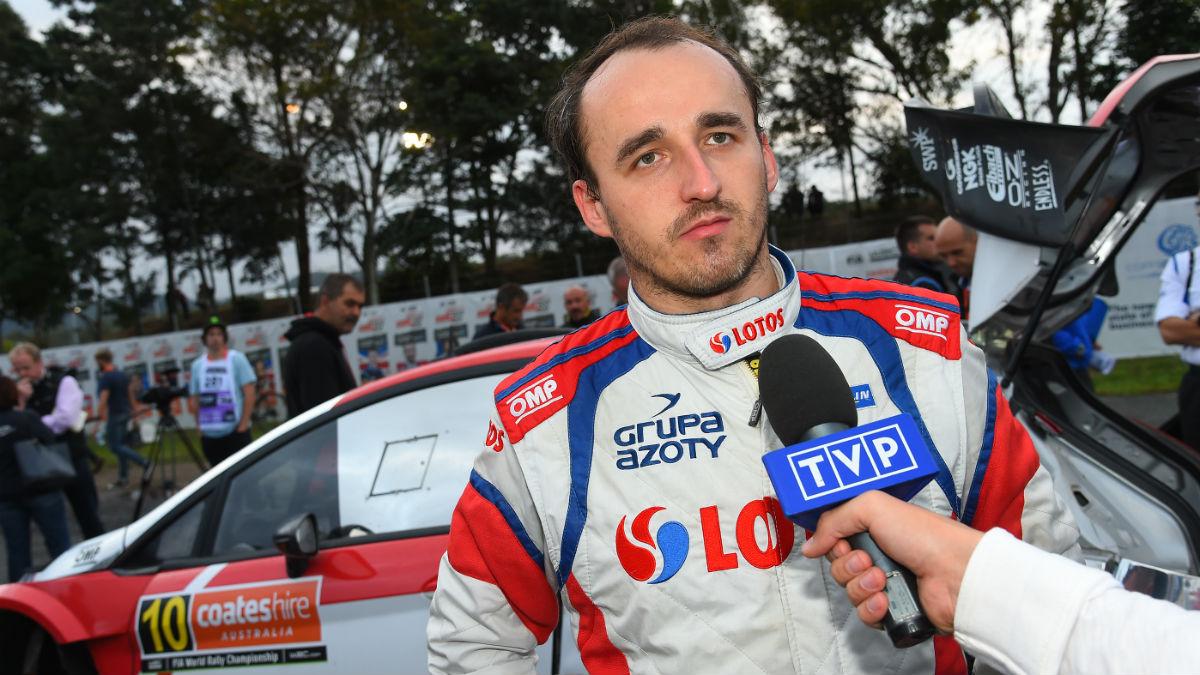 Robert Kubica va a volver a disputar un mundial en circuitos, el de resistencia. (Getty)