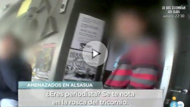 Proetarras amenazan y expulsan de Alsasua a un reportero de 'El programa de Ana Rosa'