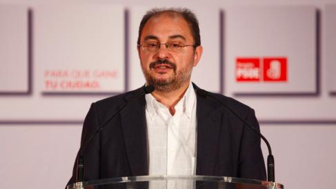 Javier Lambán, secretario general del PSOE en Aragón y presidente de la comunidad autónoma. (Foto: javierlamban.es)