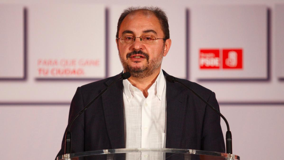 Javier Lambán en una reciente imagen.