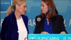 Cristina Cifuentes y Elena González-Moñux (Twitter)