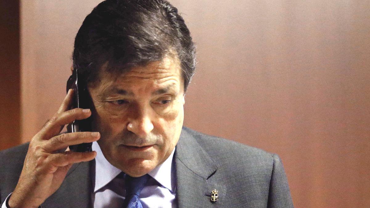 El presidente del Principado y de la Gestora del PSOE, Javier Fernández (Foto: Efe)
