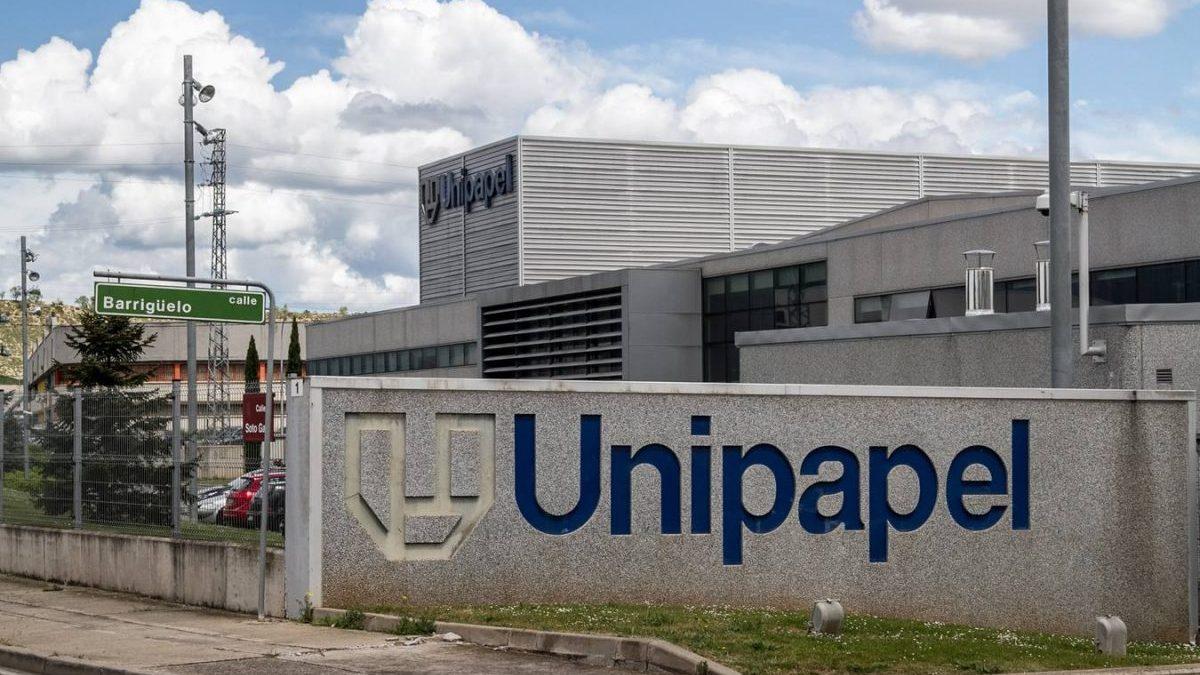 Fábrica de Unipapel en La Rioja