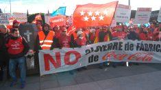 Trabajadores de la planta de Coca-Cola de Fuenlabrada (foto: GETTY).