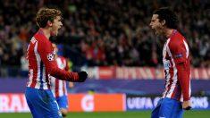 Griezmann anotó el segundo gol del Atlético ante el PSV. (Getty)