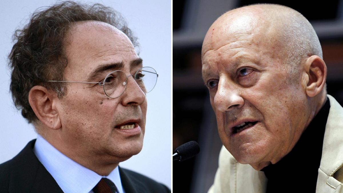 Carlos Rubio y Norman Foster. (Foto: EFE)