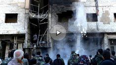Imagen de un atentado cometido por el Estado Islámico (Foto: AFP).