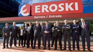 Cúpula de Eroski.