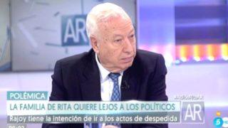 El ex ministro de Asuntos Exteriores, José Manuel García-Margallo (Foto: Twitter)