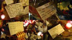 Mensajes en el Ayuntamiento y en el domicilio de Rita Barberá. (Fotos: OKDIARIO)